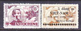VIET MINH  1 L 41 - 42    *  LT. M.J.F.  GARNIER - Viêt-Nam