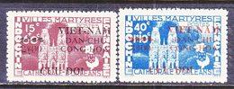 VIET MINH  1 L 47 - 48    *  CATHEDRAL - Vietnam
