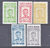 VIET MINH  1 L 57 - 61    *  HO  CHI  MINH - Vietnam