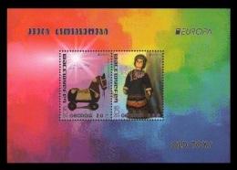 Georgia 2015 Mih. 672/73 (Bl.66) Europa-Cept. Old Toys MNH ** - Georgia