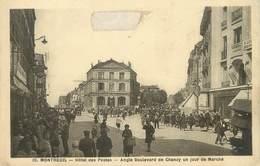 """/ CPA FRANCE 93 """"Montreuil, Hôtel Des Postes"""" - Montreuil"""