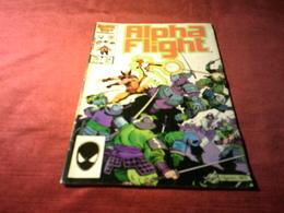 ALPHA FLIGHT   No 34 MAY - Marvel