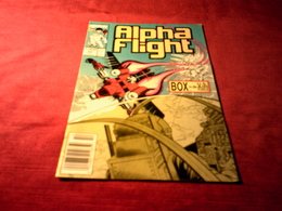 ALPHA FLIGHT   No 63 OCT - Marvel