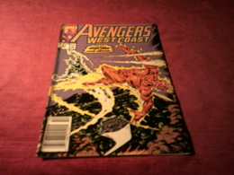 AVENGERS     WEST COAST   63 OCT - Marvel