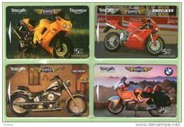 New Zealand - 1996 Classic Motorcycles Set (4) - NZ-D-51/4 - Mint - Nuova Zelanda