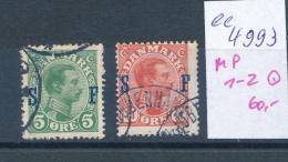 DK  - Militär Post 1-2 O   ( Ee4993  ) Aus Einer Spezial Sammlung ! - Danemark