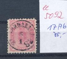 Finnland Nr. 17 Ab  O- Stempel....   ( Ee5092  ) Aus Einer Spezial Sammlung ! - Usati