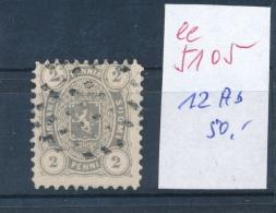 Finnland Nr. 12 Ab   O- Stempel....   ( Ee5105  )aus Einer Spezial Sammlung ! - Gebraucht