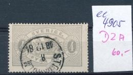 Schweden Nr. D  2 A  O ( Ee4905  )aus Einer Spezial Sammlung ! - Oficiales
