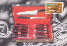 Carte  Maximum  1er  Jour   FRANCE   La  Coutellerie   THIERS    2004 - 2000-09