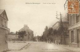 51)  RILLY  La  MONTAGNE  -  Poste  Et Rue Carnot - Rilly-la-Montagne