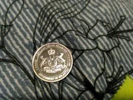 Malaysia 1 Dirham Silver Coin  World Islamic Mint Kelantan 99.9% - Malaysia