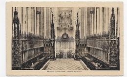AMIENS -LA CATHEDRALE - STALLES DU CHOEUR  -CPA NON VOYAGEE - Amiens