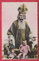 Saint-Nicolas / Sinterklaas / Santa Claus ... Jouets , Poupées , Ours ... Teddy Bear ( Voir Verso ) - Saint-Nicolas