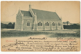 Weimar Englische Kirche  Edit Reinicke  P. Used 1900 Paris,  4 Rue Du Fer à Moulin - Weimar
