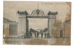 CPA 50 CHERBOURG ENTREE DE L ARSENAL Tachee - Cherbourg