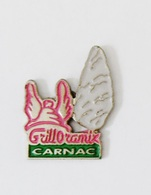 Pin's Carnac Grilloramix Menhir Casque Gaulois - BL1 - Pins