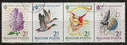Hongrie 1964 N°Y.T. :  1671 à 1674 Obl. - Gebruikt