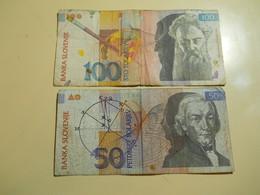 Slovenia 2 Banknotes - Slovénie