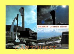 CPSM  Targasonne  MULTIVUES Centrale Solaire Thermodynamique Themis 2.5 MW - Postkaarten