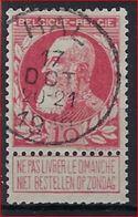 Nr. 74 Met PRACHTIGE Afstempeling  HAL En In Goede Staat ! Inzet 1 € ! - 1905 Grosse Barbe