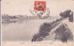 CPA - 53. SAUMUR - Vue Sur La Loire Prise De L'île D'offard - Saumur