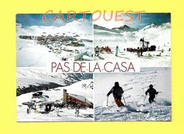 CPSM  ANDORRA - L' HIVERN - PAS DE LA CASA - Estacio D' Esports D' Hivern - Andorre