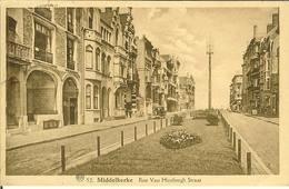 """CP De MIDDELKERKE """" Rue Van Hinsbergh Straat """" - Middelkerke"""