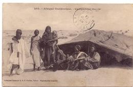 CP - Afrique Occidentale - Campement Maure - Cartes Postales