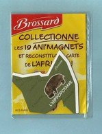 Magnet Collection Afrique  Brossard Hippopotame - Animaux & Faune