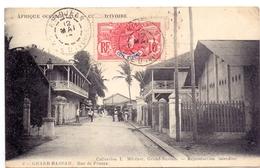 CP - Afrique - Afrika - Cote D'Ivoire - Grand Bassam - Rue De France - Côte-d'Ivoire