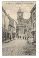 88 VOSGES - SAINT DIE La Cathédrale Et La Rue Du Nord - Saint Die