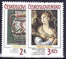 ** Tchécoslovaquie 1988 Mi 2975-6 (Yv 2779-80), (MNH) - Tchécoslovaquie
