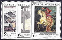 ** Tchécoslovaquie 1988 Mi 2979-81 (Yv 2783-5), (MNH) - Tchécoslovaquie