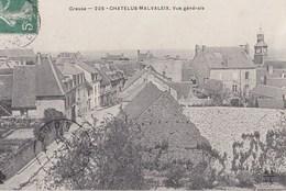 CHATELUS MALVALEIX  Vue Generale - Chatelus Malvaleix