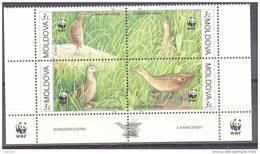 2001. Moldova, WWF, Birds, 4v, Mint/** - Moldova
