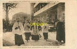06 Bleyne Par Thorenc, Sanatorium Du Clergé, Le Cardinal Maurin Bénit La Maison, Carte Pas Courante - France