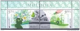 2016. Moldova, Europa 2016, Set, Mint/** - Moldavie