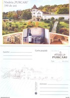 "2017. Moldova, 65y Of Wine Factory ""Cricova"", Prep. Post Card, Mint/** - Moldova"