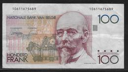 Belgique - 100 Francs  - Pick N° 142 - TB - [ 2] 1831-... : Belgian Kingdom