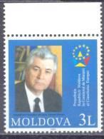 2003  Moldova, Presidency Of Moldova In Council Of Europe, 1v, Mint/** - Moldova