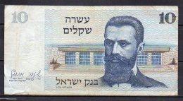 534-Israel Billet De 10 Sheqalim 1978 - 608 - Israel