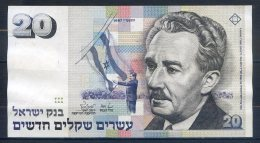 516-Israel Billet De 20 New Sheqalim 1987 - 239 - Israel
