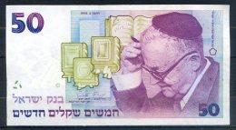 516-Israel Billet De 50 New Sheqalim 1992 -208 - Israel