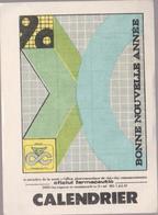 CALENDARS - ROMANIA 1990 - The Pharmaceutical Office -l'office Pharmaceutique  (7 X 10 Cm) -2 Scans - Calendarios