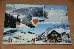 4015- Rofan,  Wintersportgebiet - 1972 - Achenseeorte
