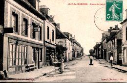 N°453 A -cpa Glos La Ferrière -route De Laigle- - France