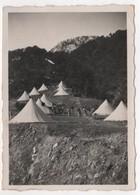 Photo Originale Militaria Camp De Chasseurs Alpins à Localiser - Guerre, Militaire