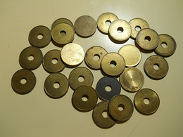 Lot Disks For Coins Or Other Things - Tokens & Medals