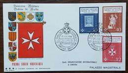 ORDRE DE MALTE - FDC 1966 - YT N°5, 7, 9 - Série Courante - Malte (Ordre De)